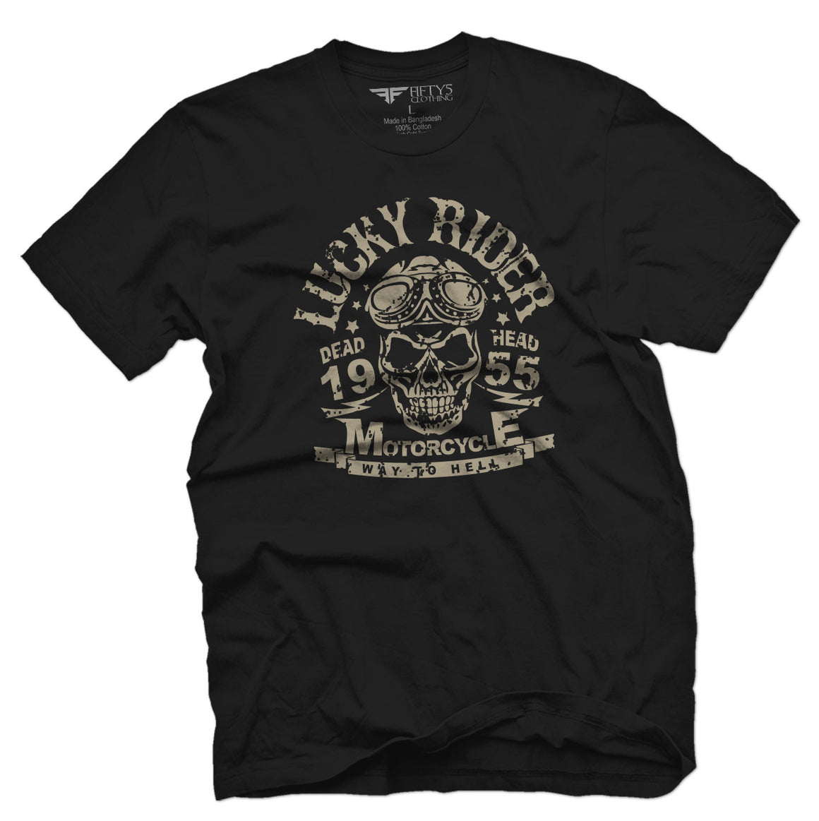 Lucky Rider Men's T Shirt