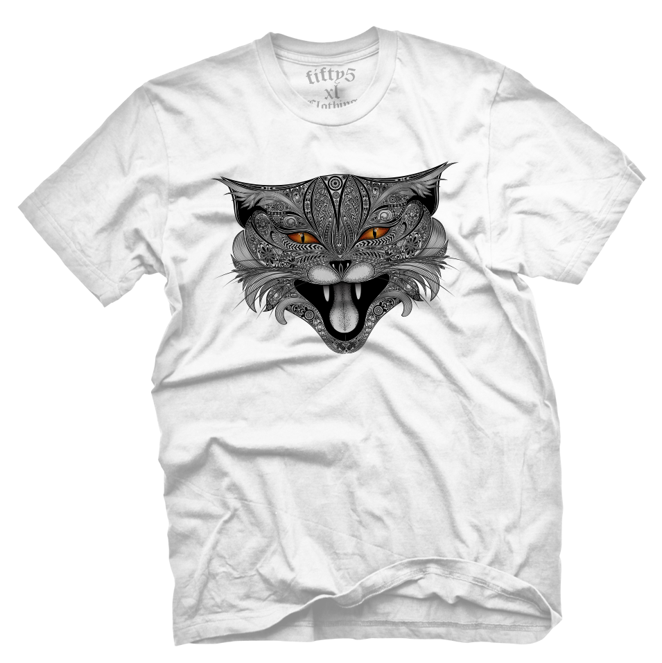 Lucifer Mad Cat Men's T Shirt