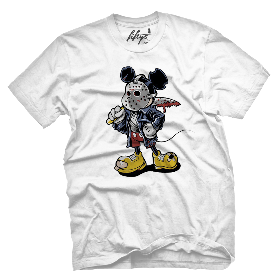 Maniac Mouse Men's T Shirt