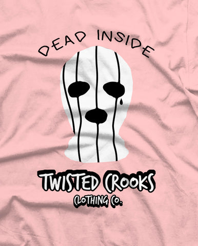 Copy of Dead Inside Pink Long Sleeve Hoodie