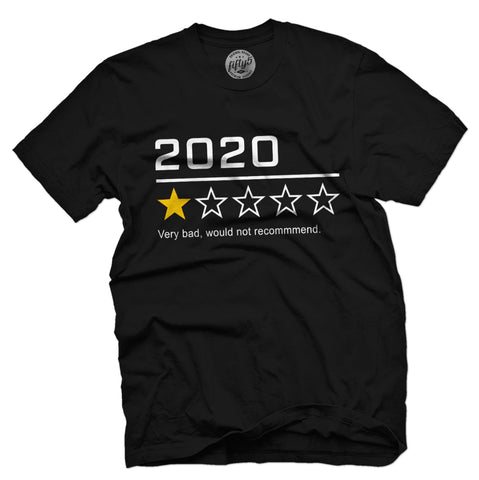 2020 One Star Review Men's T-Shirt