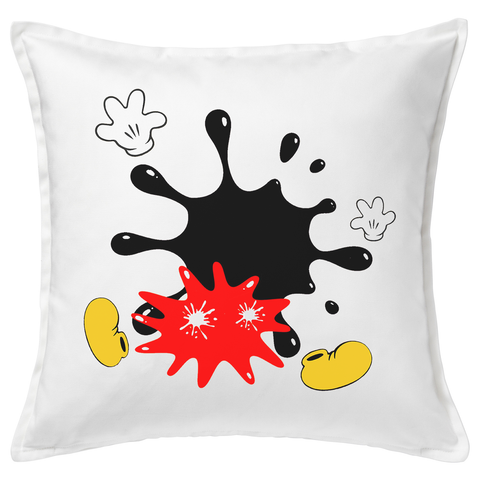 Mickey Splat 20x20 Throw Cushion