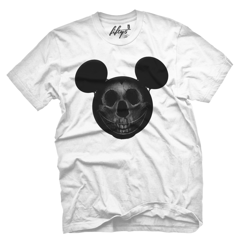 Mouse Skull Men's T Shirt