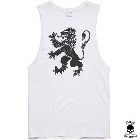 Lion Royalty Mens Muscle Tank
