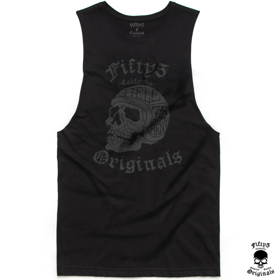 Fifty5 Originals Hell Bent Mens Muscle Tank