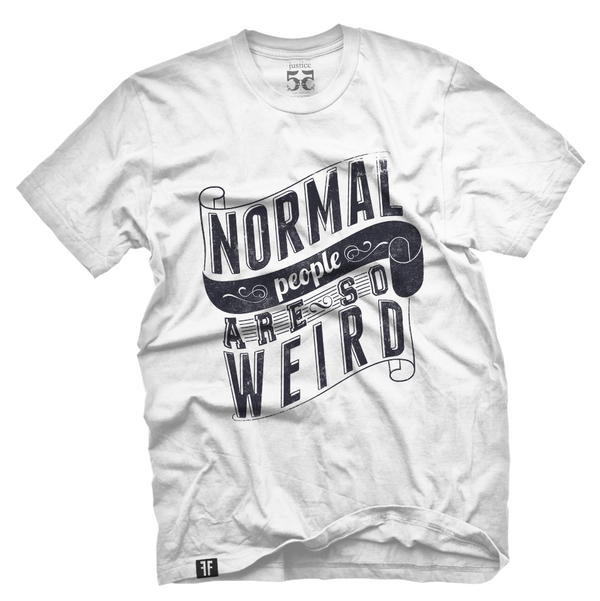 Normal people are so weird vintage t shirt for Talk texan to me shirt