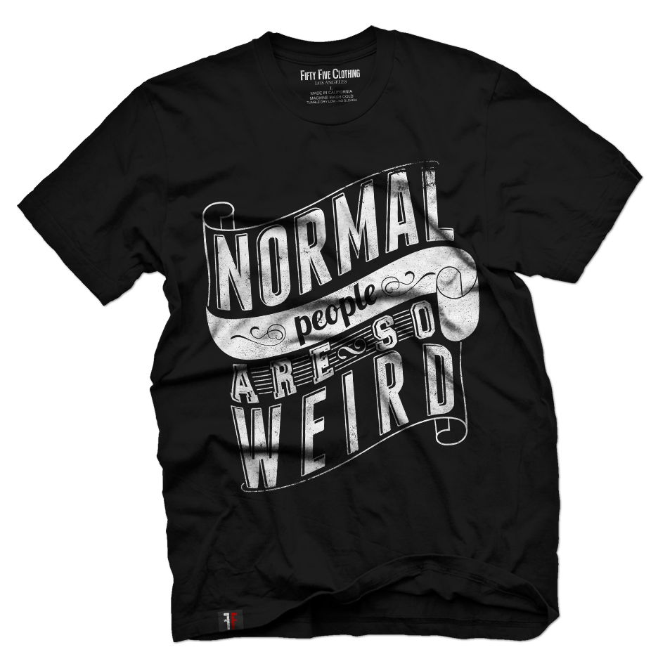 Normal People Are So Weird Vintage T shirt