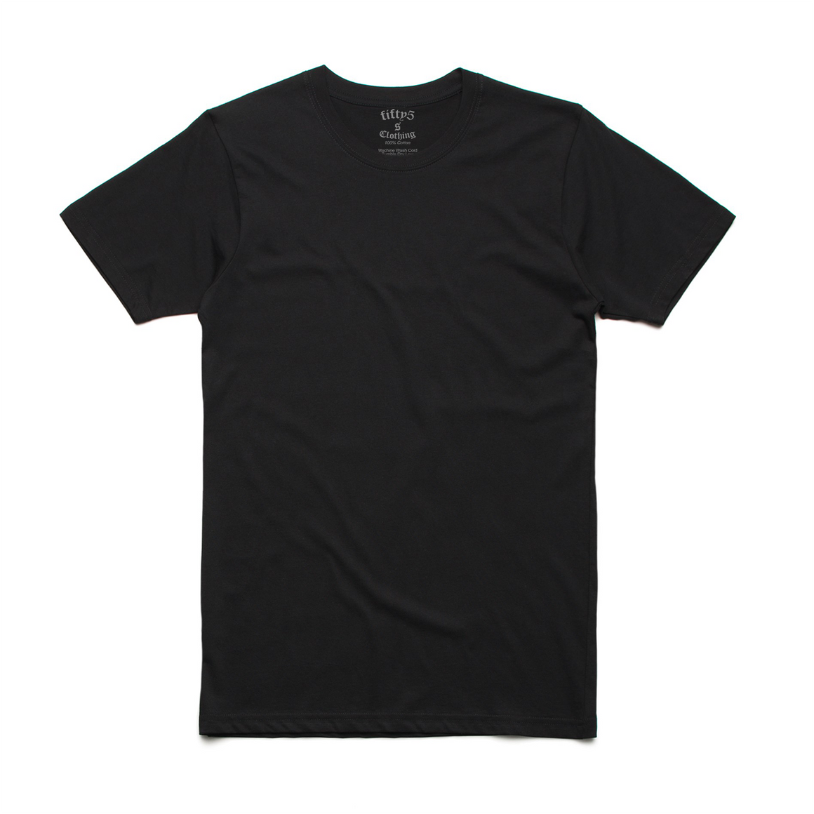 Fifty5 Clothing Mens Luxe 100% Organic Cotton T-Shirt