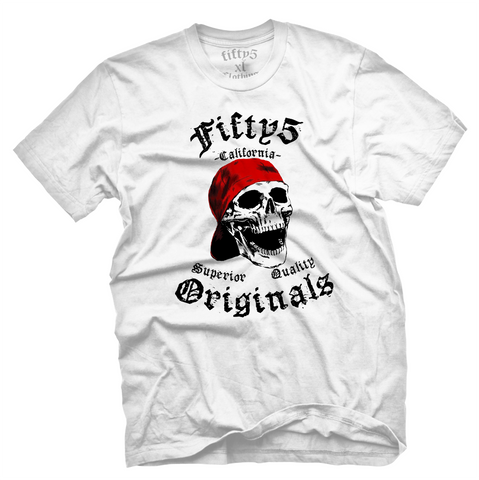 Fifty5 Originals Ball Cap Skull Men's T Shirt