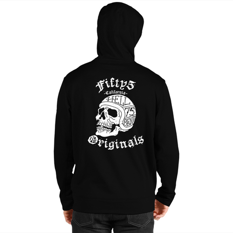 Originals Hell Bent Skull Men's Zip Up Hoodie