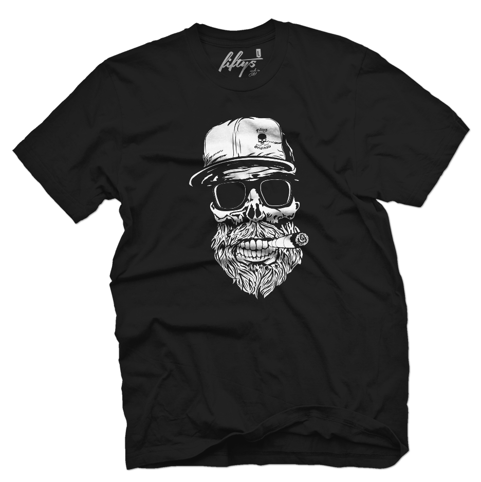 Originals Hipster Skull Men's T Shirt