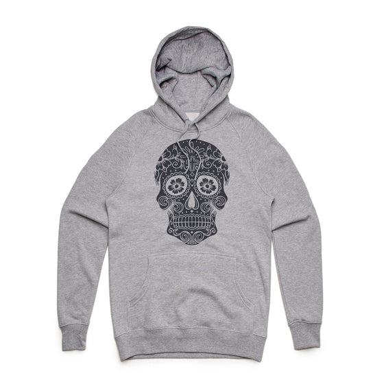 Fifty5 Sugar Skull Mid Weight Pullover Hoodie