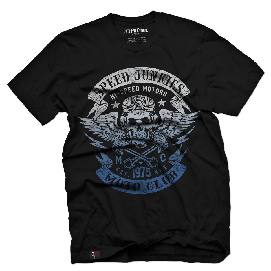 Speed Junkies Vintage Men's T Shirt
