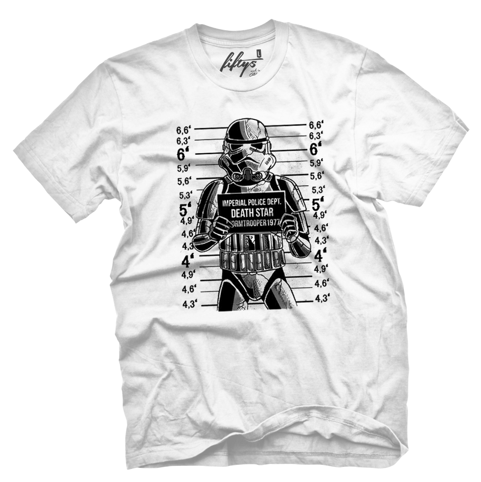 Stormtrooper Mugshot Men's T Shirt