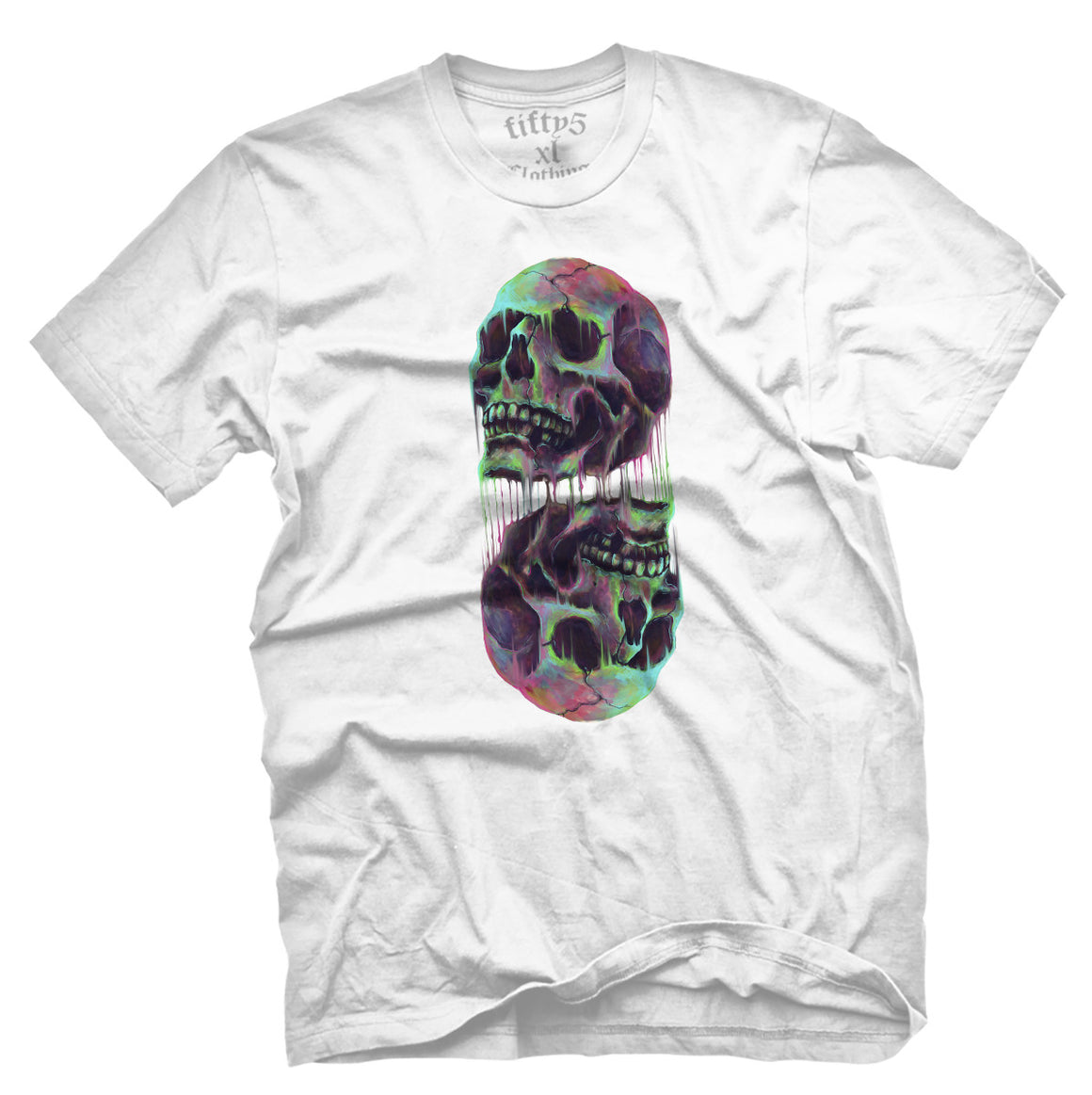 Fifty5 Synthesized Skulls Men's T Shirt