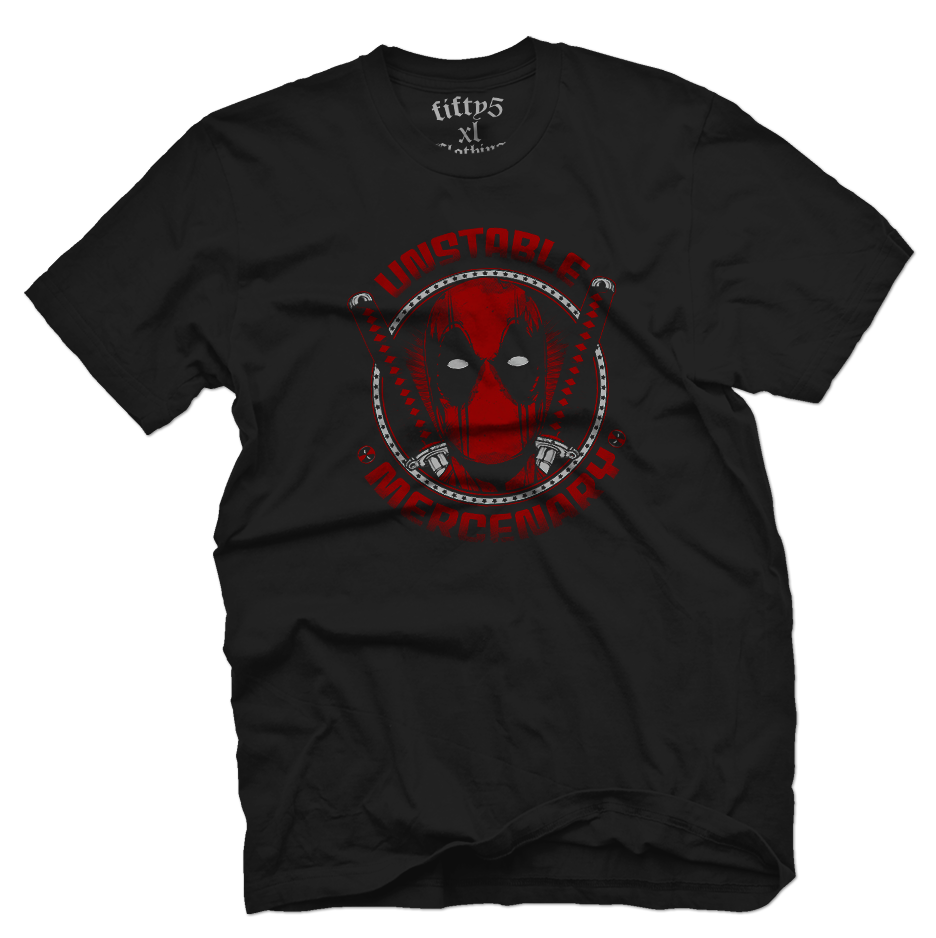 Unstable Mercenary Men's T Shirt