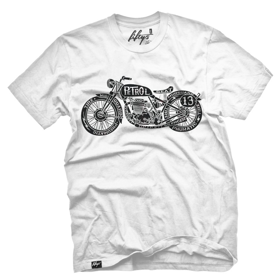 Vintage Motorcycle Men's T Shirt
