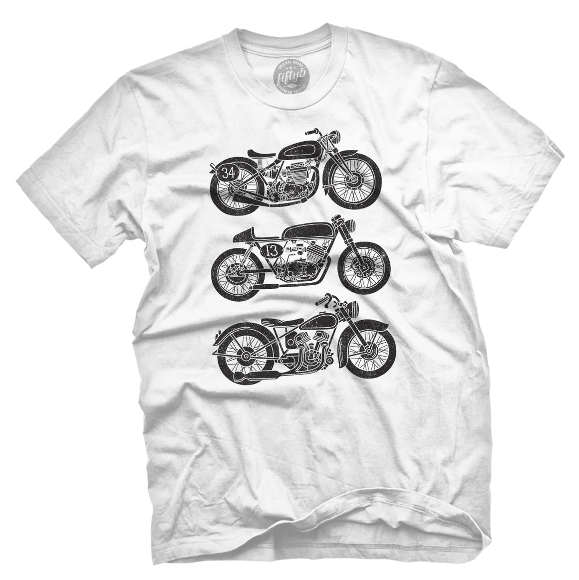 Fifty5 Clothing Vintage Bikes Men's T Shirt