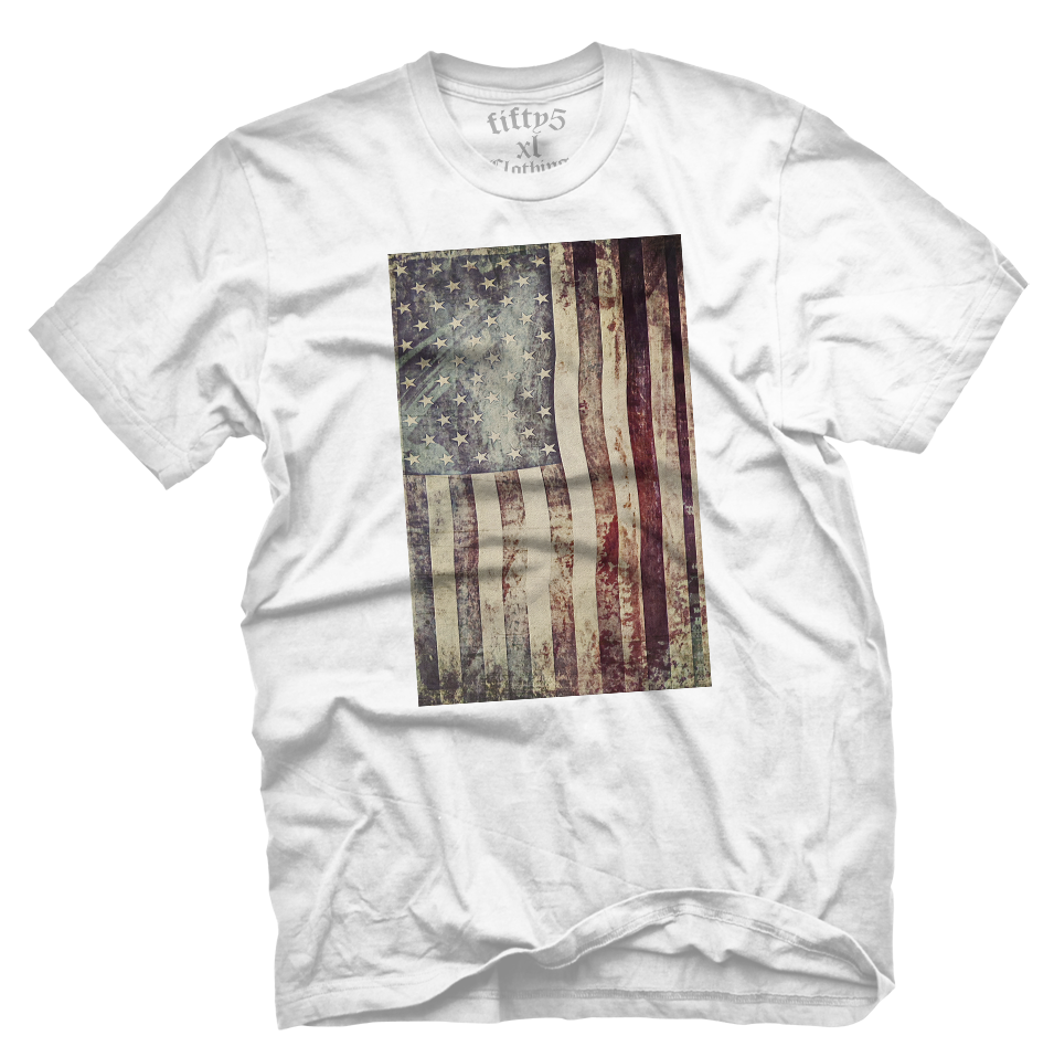 Vintage American Flag Men's T Shirt