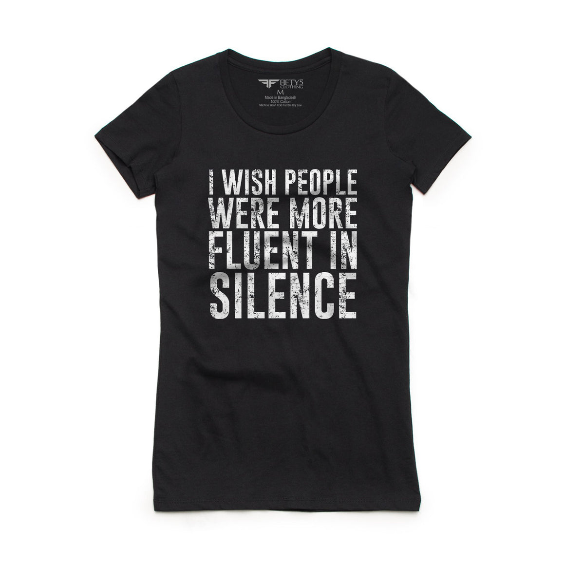 Fifty5 Clothing Fluent In Silence Women's T-Shirt