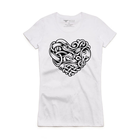 Fifty5 Clothing Celtic Heart Women's T-Shirt