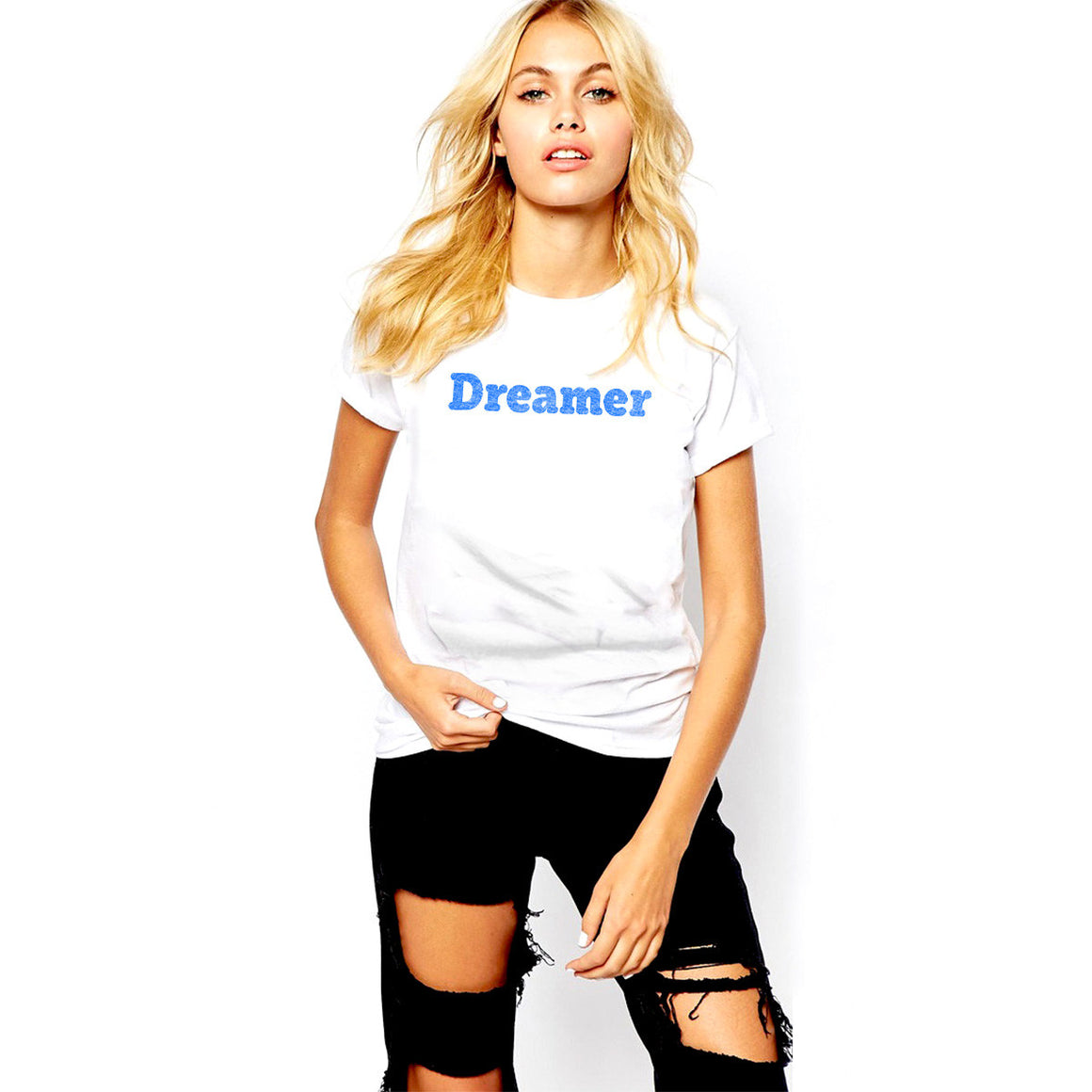 Dreamer Women's Crew Neck T-Shirt