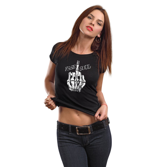 Free Soul Women's Crew Neck T-Shirt