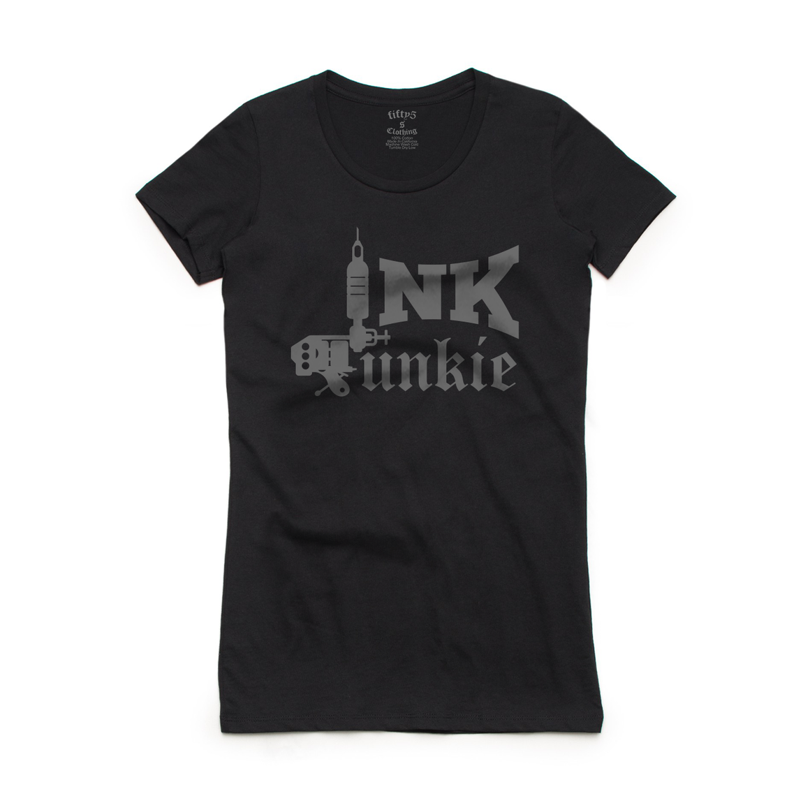 Fifty5 Clothing Ink Junkie Women's Crew Neck T-Shirt