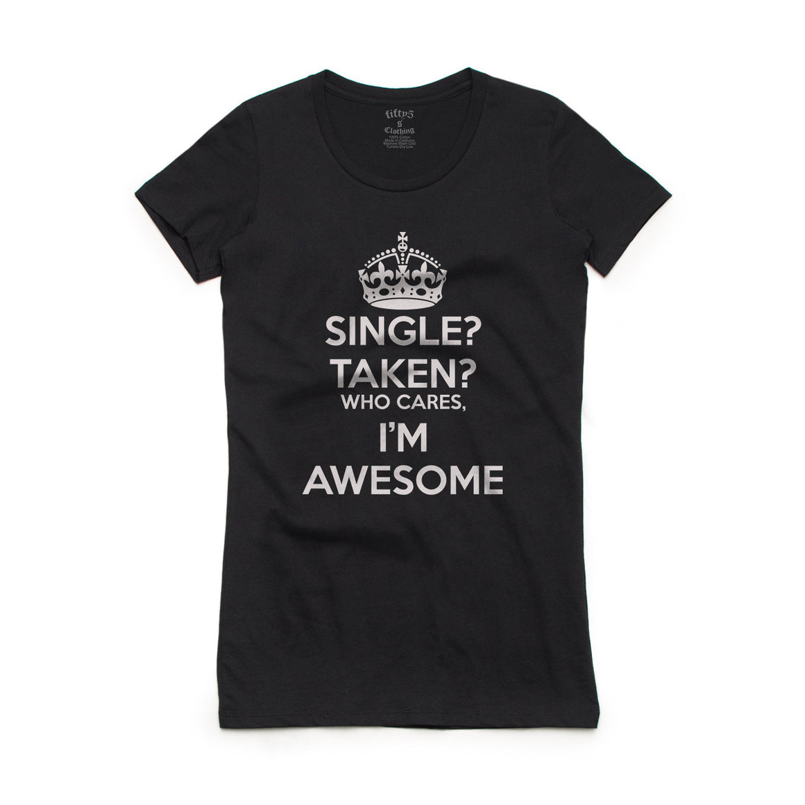 Fifty5 Clothing I'm Awesome Women's Crew Neck T-Shirt