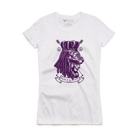 Fifty5 Clothing Peace & Love Women's T-Shirt