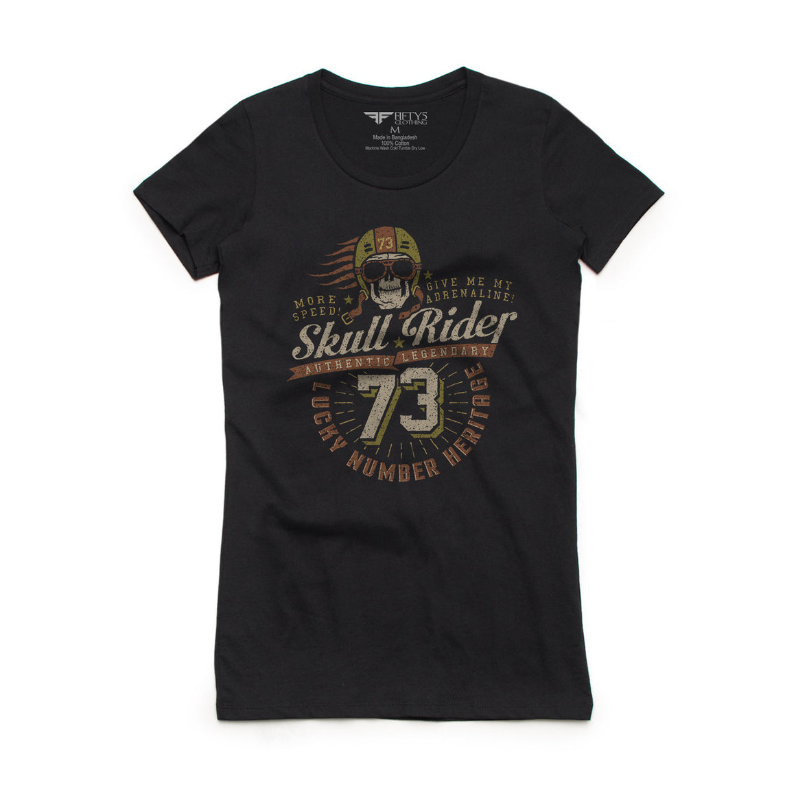 Fifty5 Clothing Skull Rider Women's T-Shirt