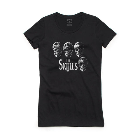 Fifty5 Clothing The Skulls Women's Crew Neck T-Shirt