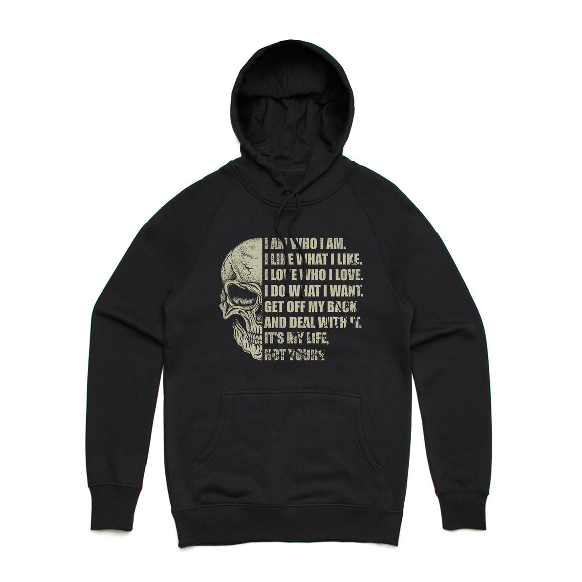 Fifty5 Clothing I Am Who I Am Pullover Hoodie