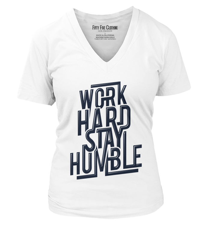 Work Hard Stay Humble Vintage Women's T Shirt