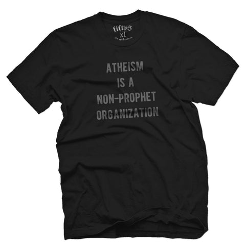 Fifty5 Clothing Atheism Men's T Shirt