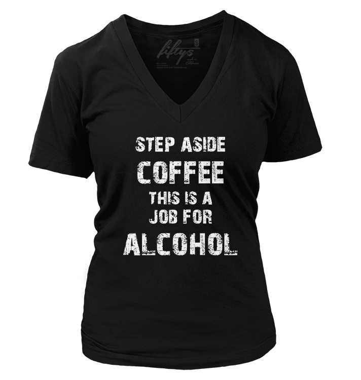 Step Aside Coffee Vintage Women's T Shirt