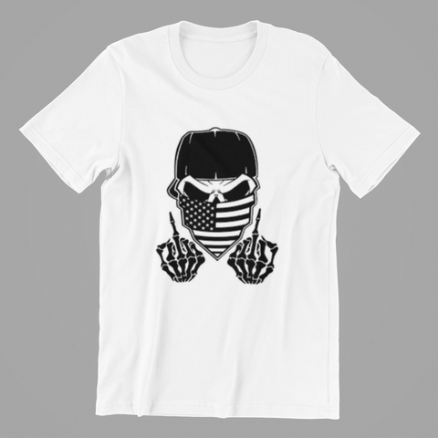 Fifty5 Finger Skull Black