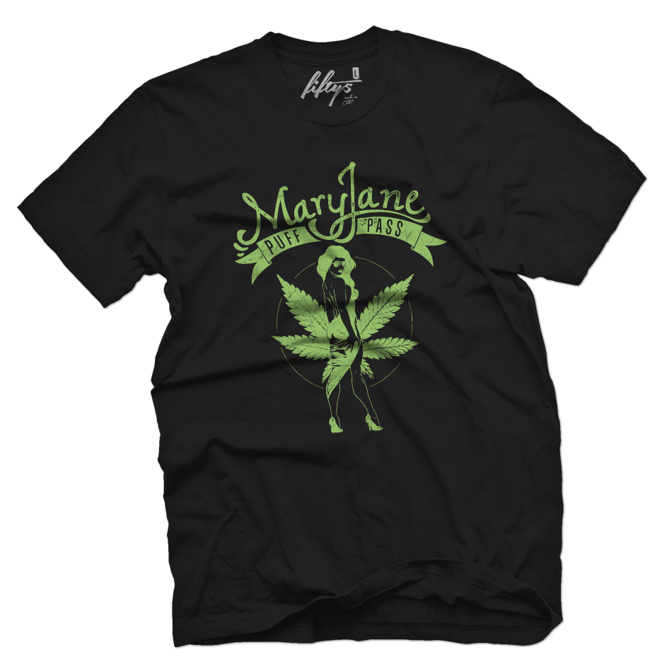 Mary Jane Puff Pass Men's T Shirt
