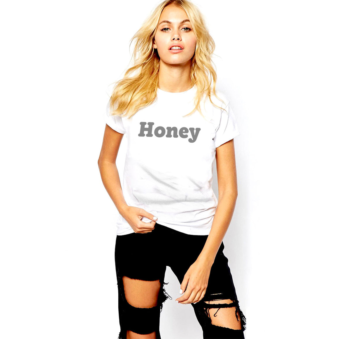 Honey Women's Crew Neck T-Shirt