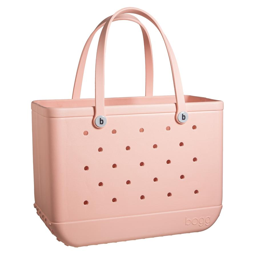 Original Bogg Bag - Large Tote, PEACH - Monogram Market