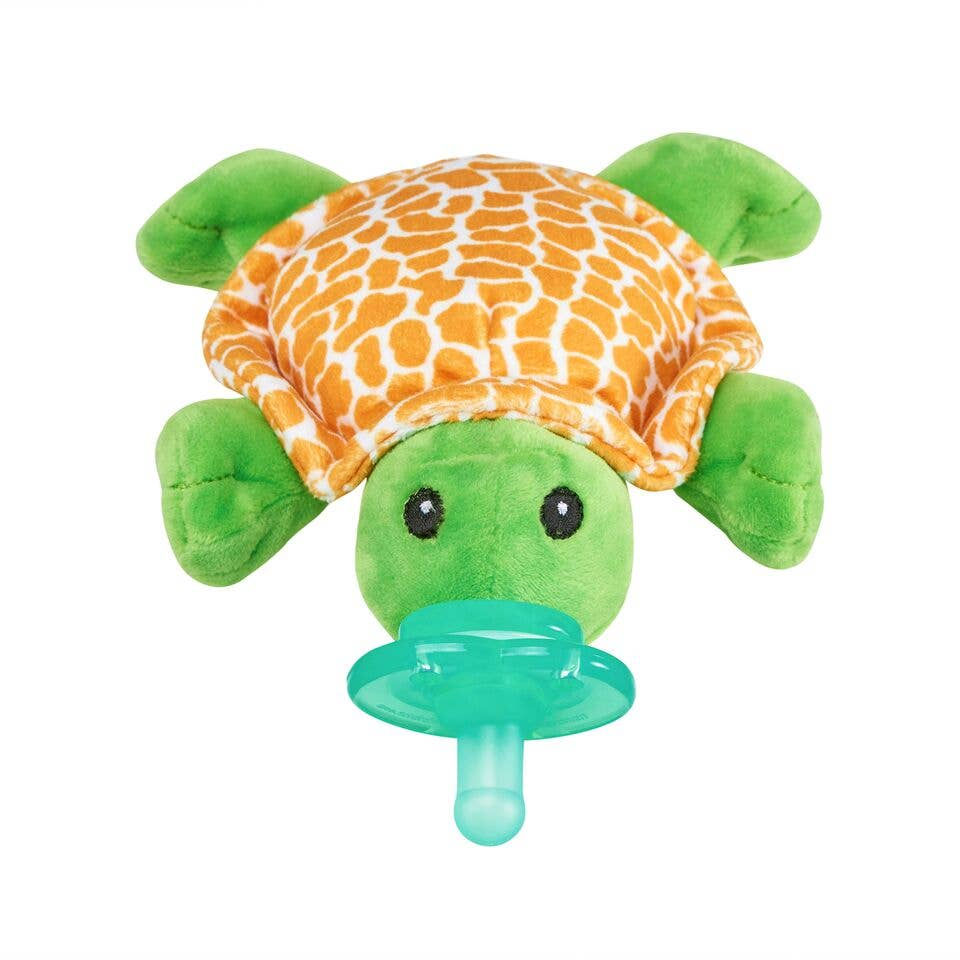 Paci-Plushies Shakies – Tickles Turtle - Monogram Gifts