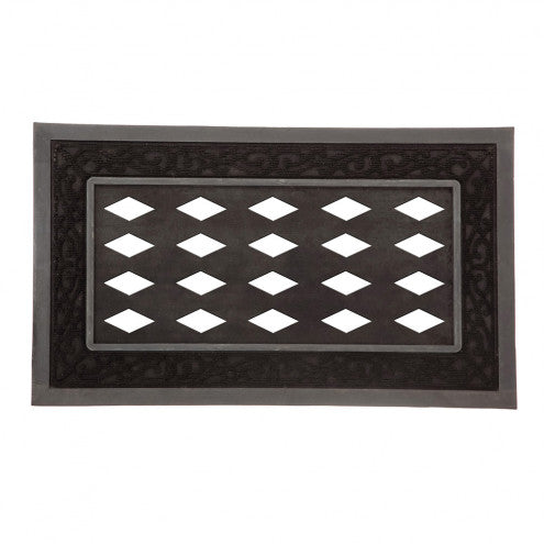 Decorative Black Sassafras Mat Tray - Monogram Gifts