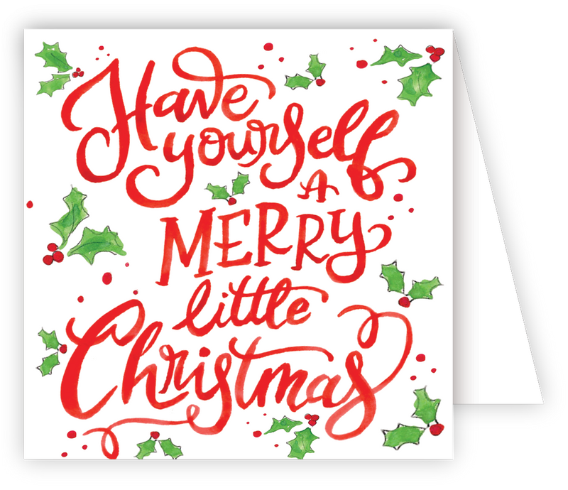 RosanneBeck Collections - Have Yourself A Merry Enclosure Card - Monogram Gifts