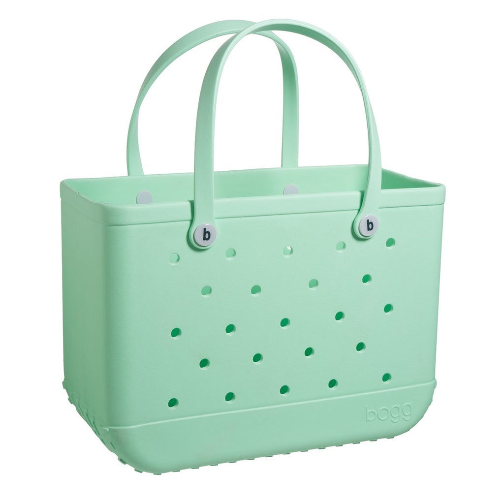 Original Bogg Bag - Large Tote, MINT chip - Monogram Market