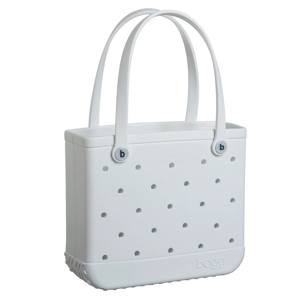 Baby Bogg Bag - Small Tote, WHITE - Monogram Market