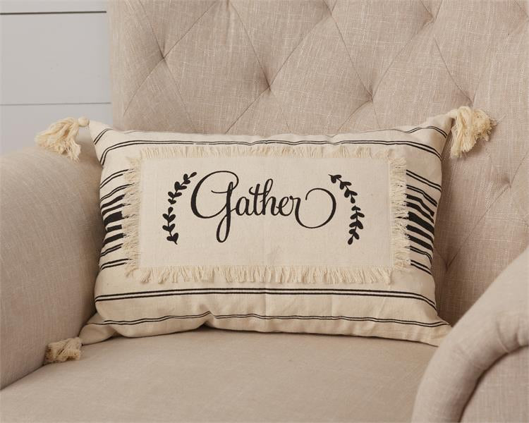 Gather Pillow - Monogram Market