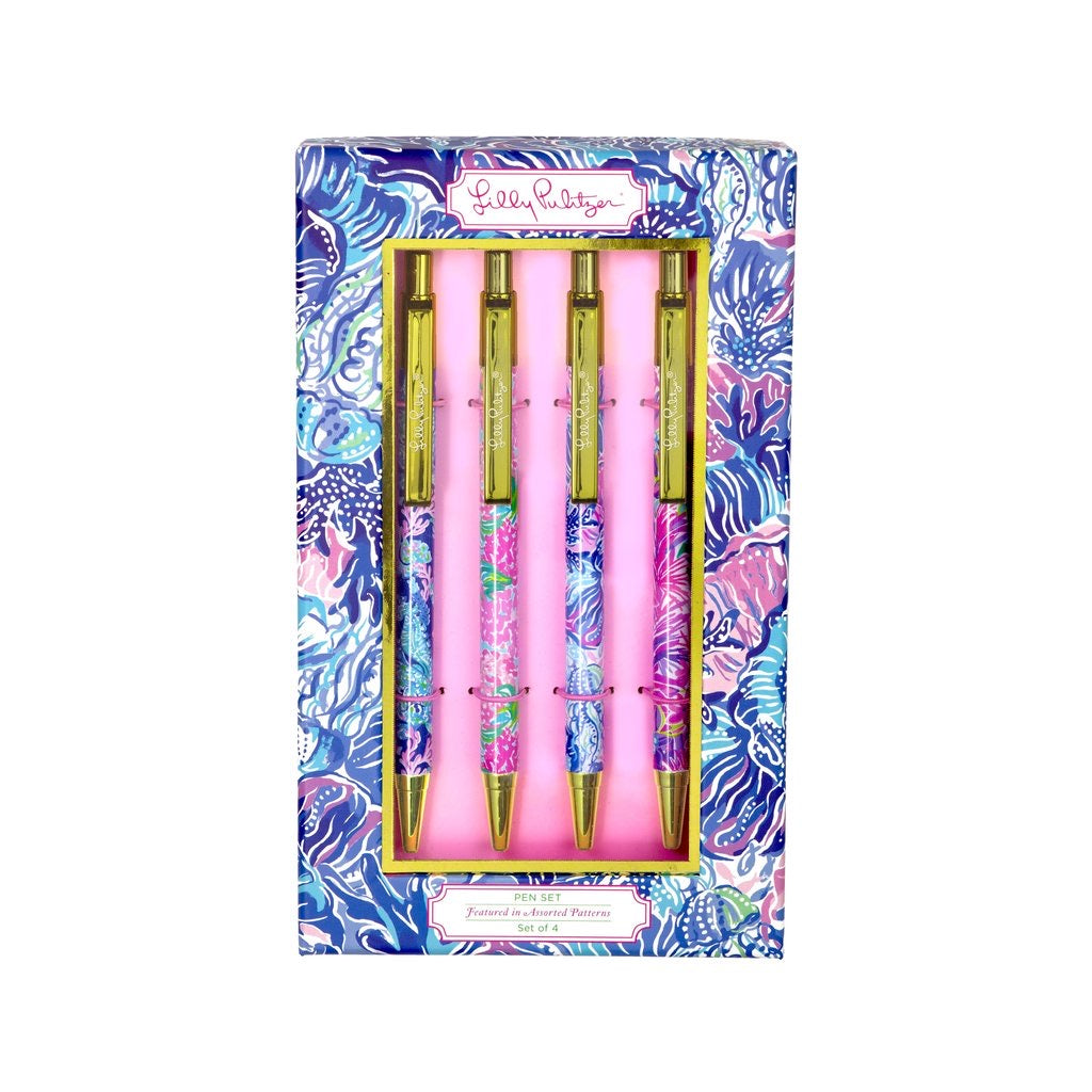 Lilly Pulitzer Pen Set, Assorted - Monogram Gifts