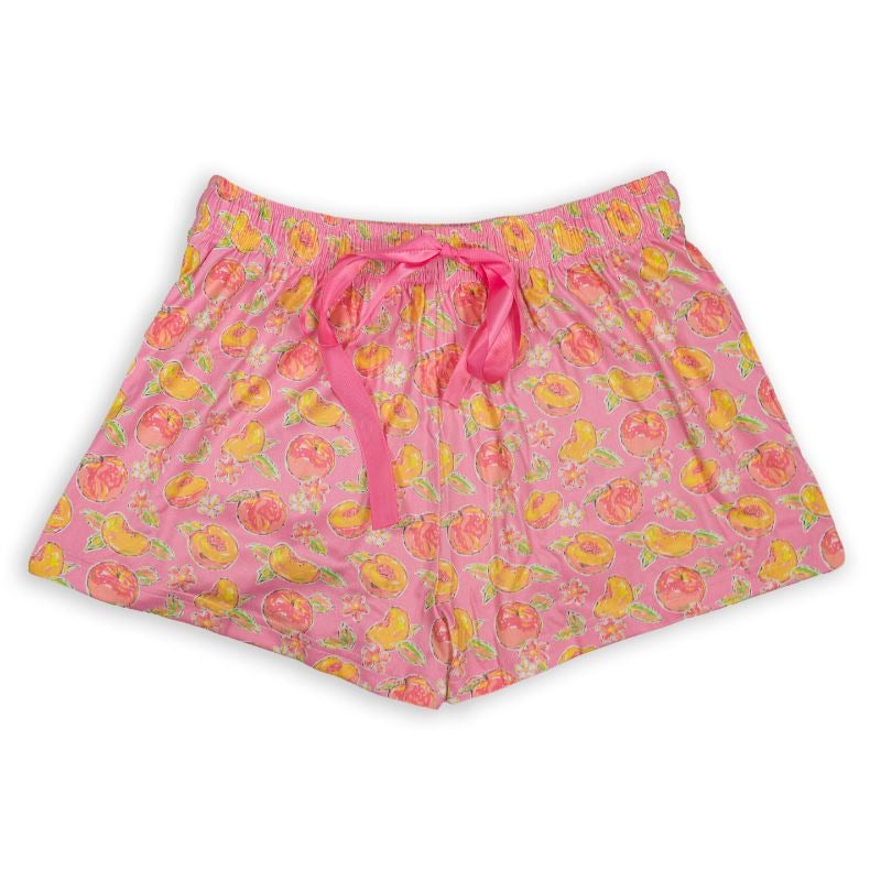 Simply Southern Lounge Shorts, Peachy - Monogram Market