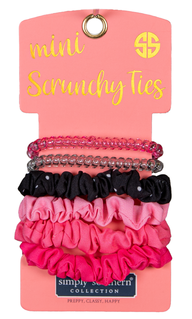 Simply Southern Mini Scrunchy Hair Ties - Monogram Market
