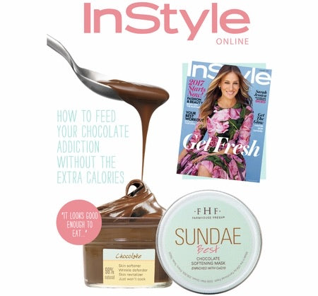 Farmhouse Fresh Sundae Best Chocolate Softening Mask with CoQ10 - Monogram Gifts